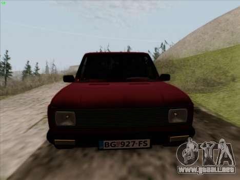 Zastava 128 para la visión correcta GTA San Andreas