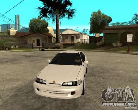 Honda Integra 1996 para GTA San Andreas vista hacia atrás