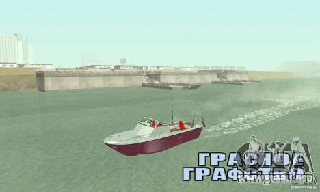 Sports Fishing Boat para GTA San Andreas
