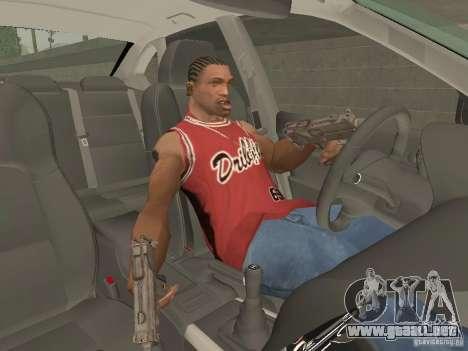 Freno de mano para GTA San Andreas tercera pantalla