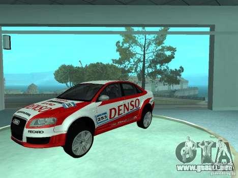 Audi RS4 para el motor de GTA San Andreas