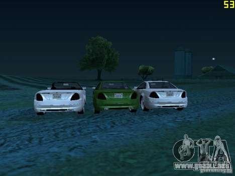 GTA IV Feltzer para GTA San Andreas vista posterior izquierda