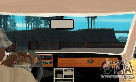 Ford Taunus 1978 para la visión correcta GTA San Andreas