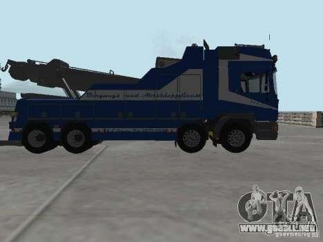 MAN F2000 (con guión de CLEO) para vista inferior GTA San Andreas