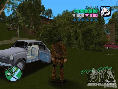 ZAZ 965 para GTA Vice City left