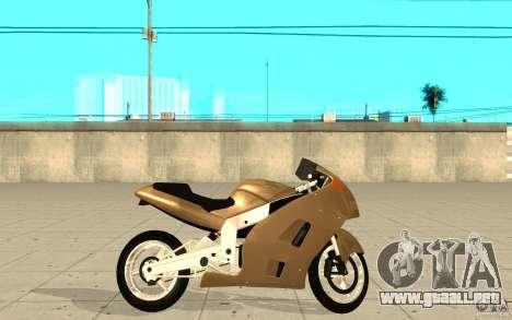 GTAIV TLAD Hakuchou Custom Version para GTA San Andreas left