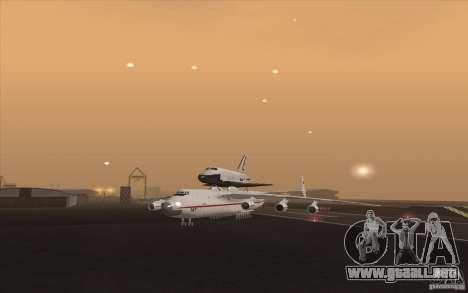 Antonov AN225 para GTA San Andreas