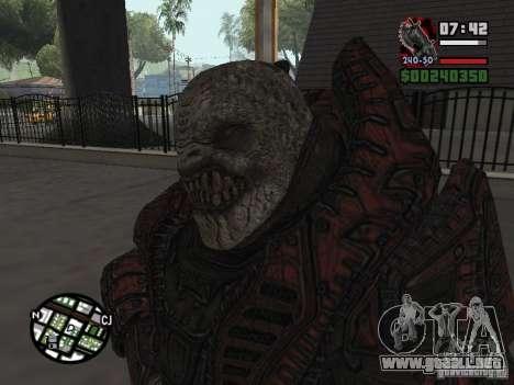 Lokast Theron guardia para GTA San Andreas segunda pantalla
