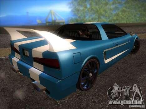 New Infernus para visión interna GTA San Andreas