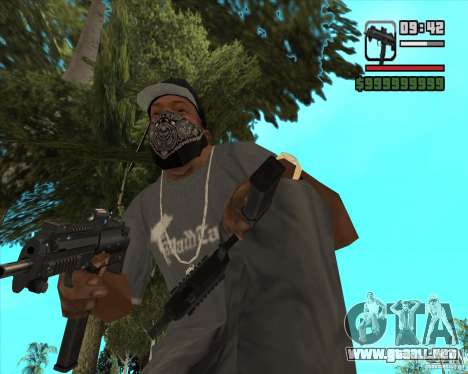 New Micro uzi HD para GTA San Andreas