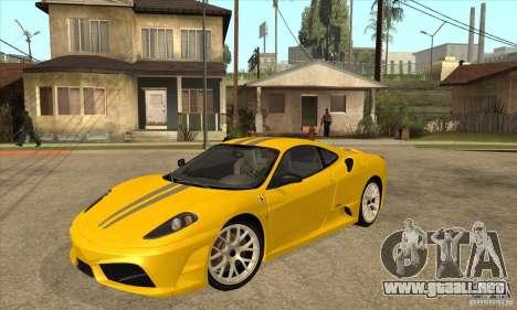 Ferrari F430 Scuderia 2007 para la visión correcta GTA San Andreas