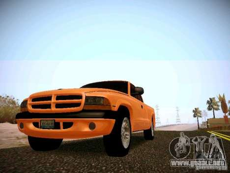 Dodge Ram 1500 Dacota para GTA San Andreas left