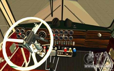 Kenworth W900 Heavy Hauler 1974 para la visión correcta GTA San Andreas