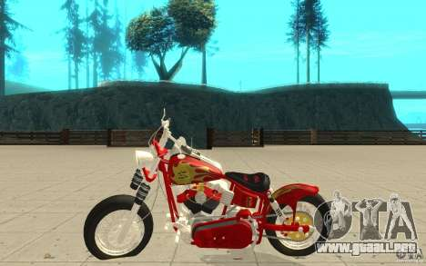 Orange County Chopper Sunshine para GTA San Andreas left