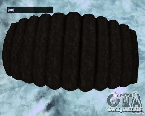 Black Ops Parachute para GTA San Andreas sexta pantalla