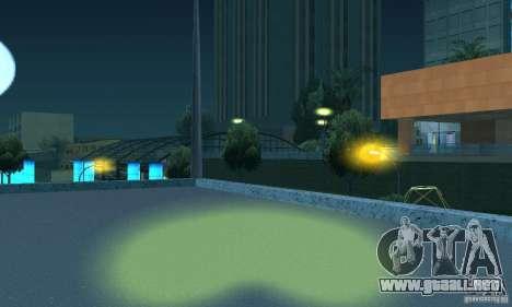 Faros amarillos para GTA San Andreas quinta pantalla