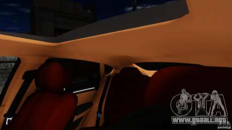 BMW X6 2013 para GTA 4 vista lateral