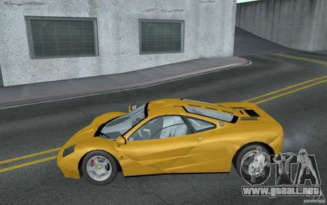 Mclaren F1 road version 1997 (v1.0.0) para GTA San Andreas left