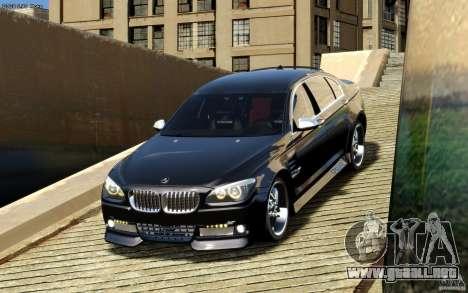 Pantallas de menú y arranque HAMANN BMW en GTA 4 para GTA San Andreas quinta pantalla