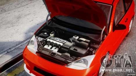 Ford Focus SVT WRC Street para GTA 4 visión correcta