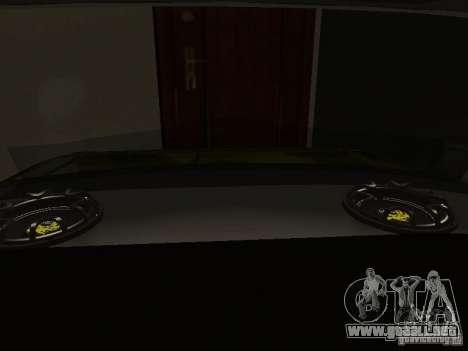 2106 Vaz (oro) para visión interna GTA San Andreas