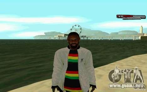 Jamaicana piel HD para GTA San Andreas