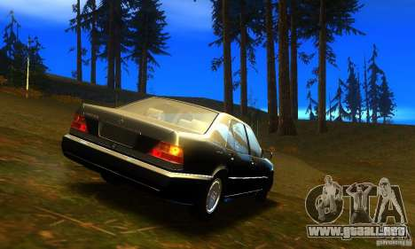 Mercedes-Benz 600SEL v2.0 para GTA San Andreas left
