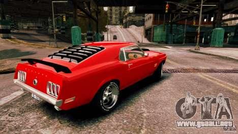 Ford Mustang BOSS 429 para GTA 4 left
