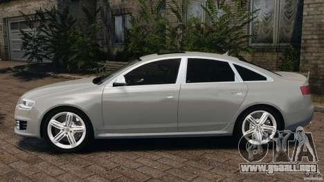 Audi RS6 2010 v1.1 para GTA 4 left