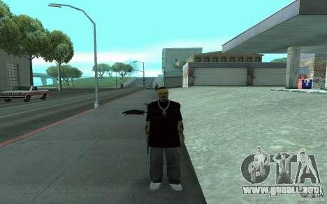 Nuevos aspectos Los Santos Vagos para GTA San Andreas sucesivamente de pantalla