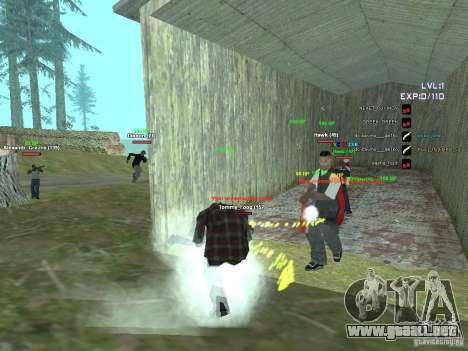 SA:MP 0.3d para GTA San Andreas tercera pantalla