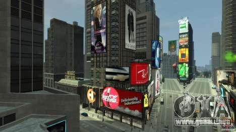 Time Square Mod para GTA 4 octavo de pantalla