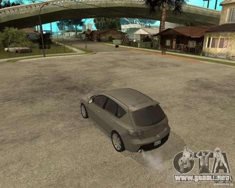 Mazda 3 Sport 2003 para GTA San Andreas left