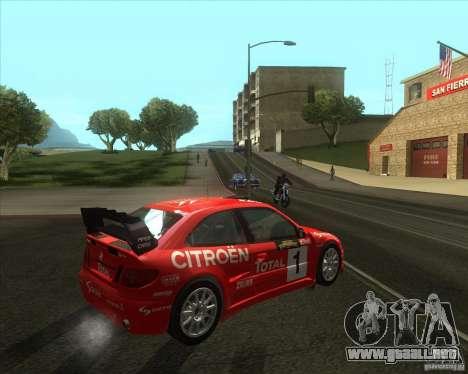 Citroen Xsara 4x4 T16 para la visión correcta GTA San Andreas