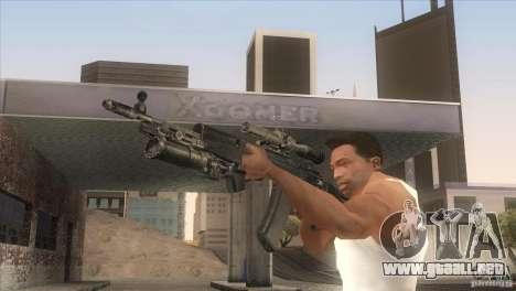 AK-47 v2 para GTA San Andreas sucesivamente de pantalla