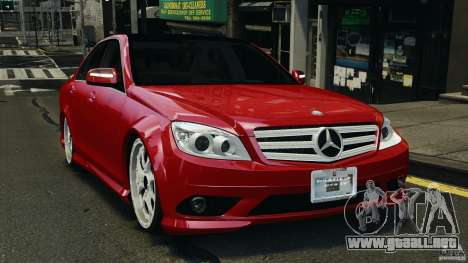 Mercedes-Benz C350 Avantgarde v2.0 para GTA 4