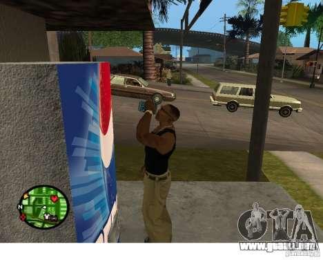 Máquinas expendedoras de Pepsi y planta para GTA San Andreas