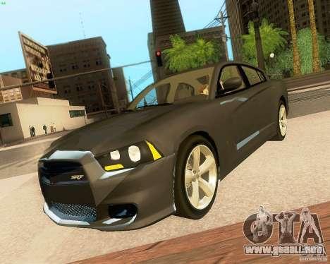 Dodge Charger SRT8 2012 para las ruedas de GTA San Andreas