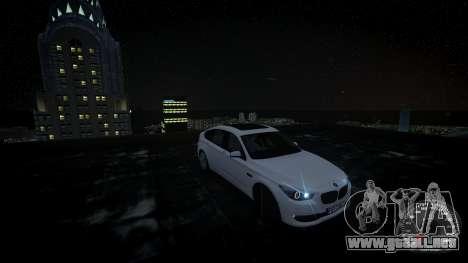 BMW GT F07 2012 GranTurismo para GTA 4 visión correcta