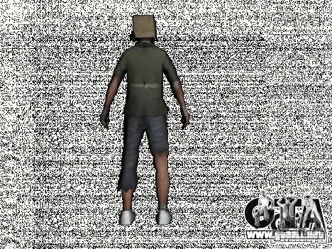 New Bomj para GTA San Andreas segunda pantalla