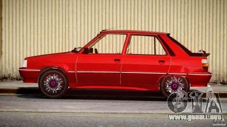 Renault Flash Turbo 11 para GTA 4 vista interior