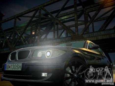 BMW 120i para GTA 4 interior