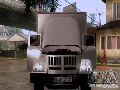 ZIL 131 para visión interna GTA San Andreas