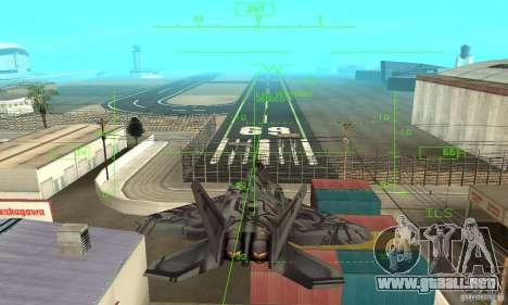 F-22 Starscream para el motor de GTA San Andreas