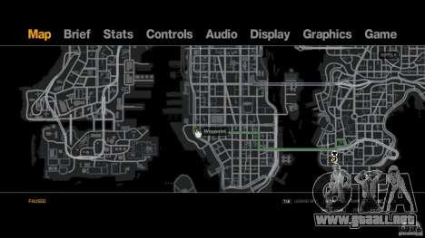 Aral Tankstelle para GTA 4 adelante de pantalla
