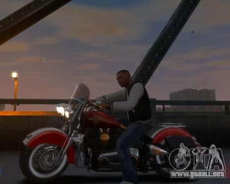 Harley-Davidson Fat Boy Lo (Vintage final) para GTA 4