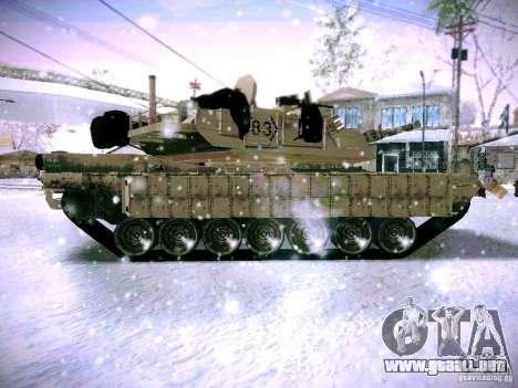 M1A2 Abrams de Battlefield 3 para GTA San Andreas left