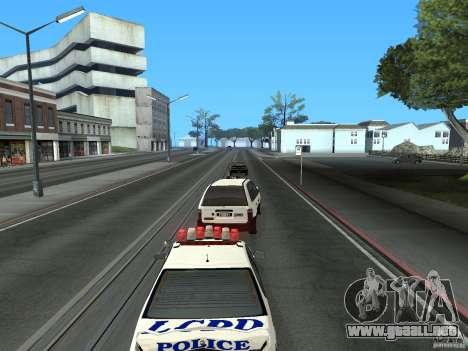 Taxista de GTA 4 para GTA San Andreas vista hacia atrás