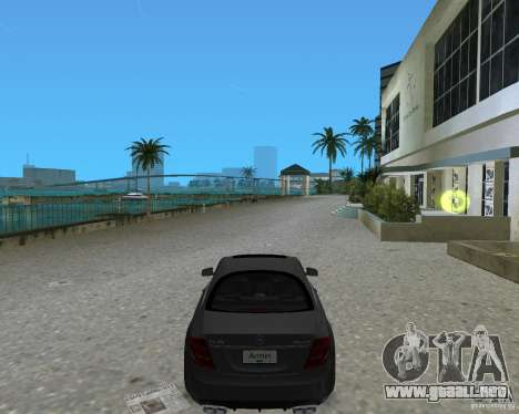 Mercedess Benz CL 65 AMG para GTA Vice City left