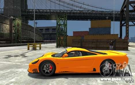 Saleen S7 para GTA 4 left